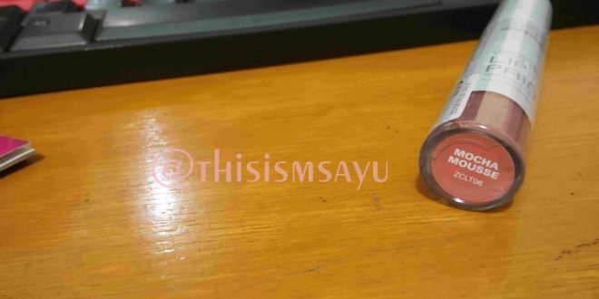 REVIEW | Lip Paint Zoya Untuk Sawo Matang, Mocha Mousse