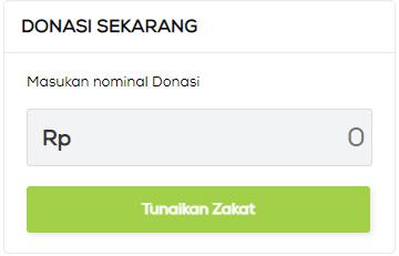 Donasi Zakat di Web Sinergi Foundation